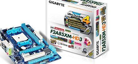 Nueva placa F2A85XM-HD3 de Gigabyte
