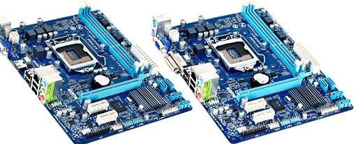 Tarjetas madres H61M-DS2 DVI y H61M-DS2 HDMI de Gigabyte