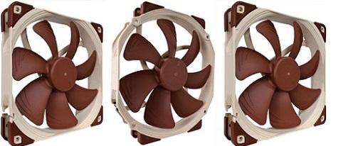 Noctua anuncia sus ventiladores NF-A14 FLX, NF-A14 ULN y NF-A15 PWM