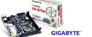Tarjeta madre GA-B75N de Gigabyte