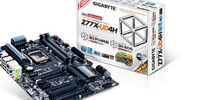 Gigabyte lanza su tarjeta madre Z77X-UD4H