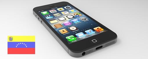 iPhone 5 disponible en Venezuela