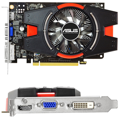 ASUS GeForce GTX 650-E-1GD5 / GTX650-E-2GD5