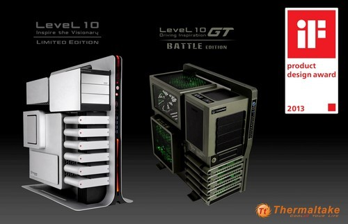 Case Level 10 de Thermaltake - iF Product Design Award 2013