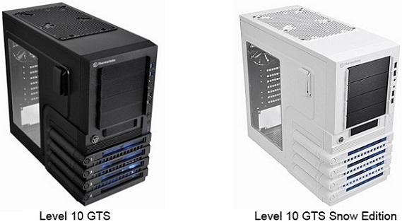 Cases Level 10 GTS y Level 10 GTS snow Edition de Thermaltake