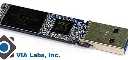 VIA lanza sus controladores USB 3.0 para memorias NAND Flash VL752 y VL753