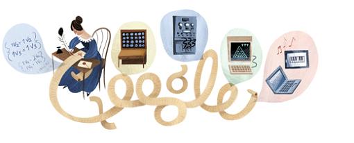 Google le rinde homenaje a Ada Lovelace por su 197 aniversario
