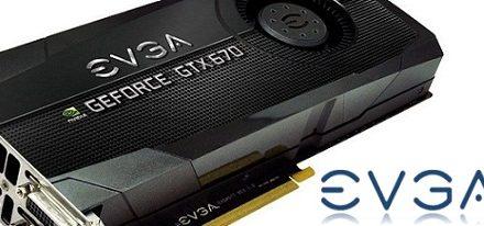 EVGA lanza otra GeForce GTX 670
