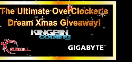 Concurso – Ultimate Overclockers Dream Xmas Giveaway