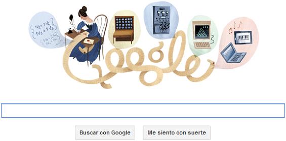 Doodle - Ada Lovelace - 10/12/2012