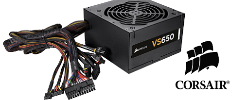 Corsair introduce su serie VS de fuentes de poder
