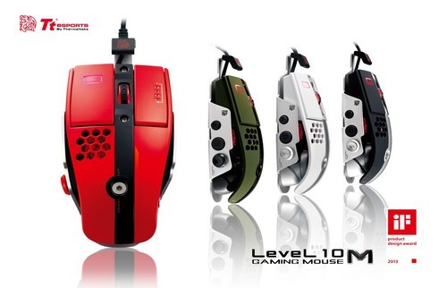 Ratón Level 10 M de Tt eSports - iF Product Design Award 2013