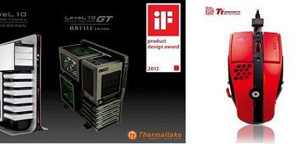 La serie Level 10 de Thermaltake y Tt eSPORTS han recibido el premio iF Product Design Award 2013
