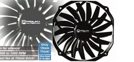 Ventilador Ultra Sleek Vortex 14 de Prolimatech