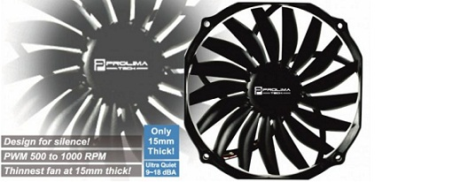 Ventilador Ultra Sleek Vortex 14 de Prolimatech