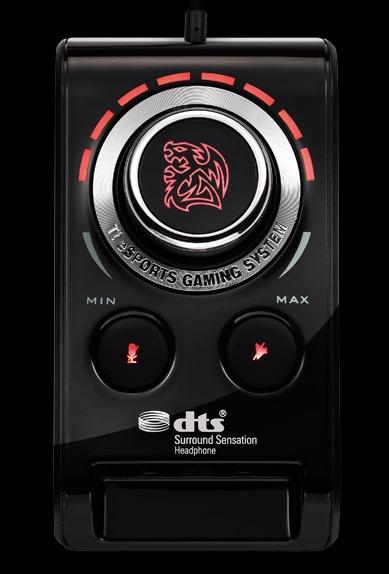 BAHAMUT External USB Pro-Gaming Sound Card de Tt eSPORT