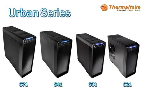 Cases serie Urban de Thermaltake