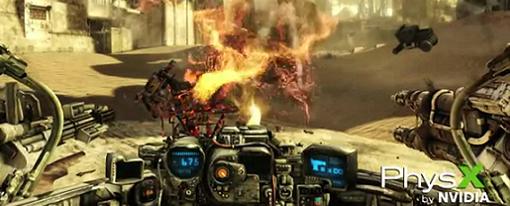 Tráiler del juego Hawken muestra nueva característica de la tecnología PhysX
