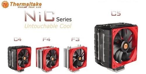CPU Coolers de la serie NIC de Thermaltake