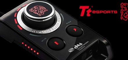 CES 2013 – BAHAMUT External USB Pro-Gaming Sound Card de Tt eSports