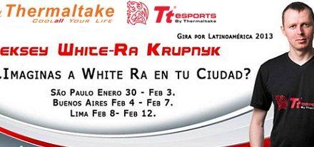Primera Gira por Latinoamérica de 'White Ra'