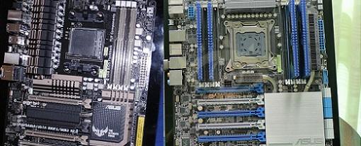 CES 2013 – Tarjetas madres Sabertooth 990FX/GEN3 R2.0 y P9X79-E WS de Asus