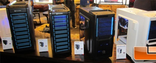 CES 2013 – Cases de las series Chaser y Urban de Thermaltake
