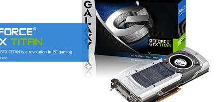 Galaxy anuncia su tarjeta gráfica GeForce GTX Titan