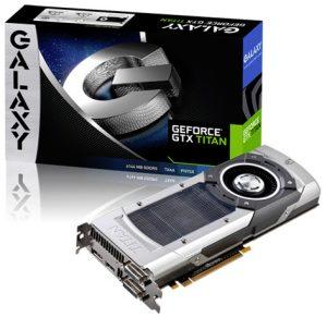 GeForce GTX Titan de Galaxy