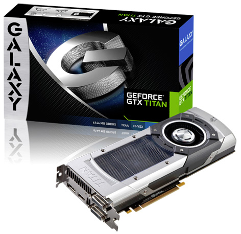 GeForce GTX Titan de Galaxy