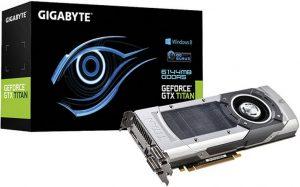 GeForce GTX Titan de Gigabyte