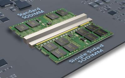 Módulo DRAM DDR3 Single-Sided de Micron Technology