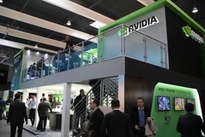Stand de Nvidia en la MWC 2013