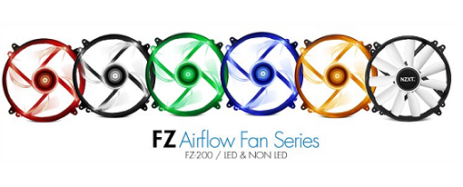 Ventiladores de 200mm FZ-200 de NZXT