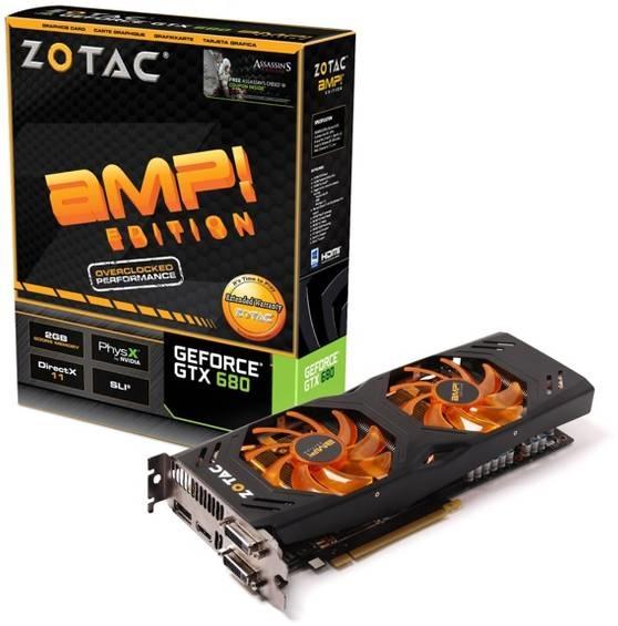 Zotac GTX 680 AMP Edition- ZT-60105-10P