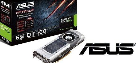 Asus tambien presenta su GeForce GTX Titan
