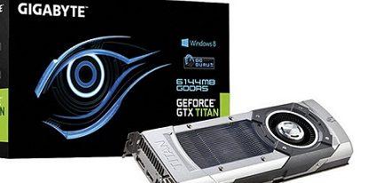 Gigabyte deja ver su GeForce GTX Titan