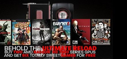 AMD anuncia su promoción 'Never Settle: Reloaded'