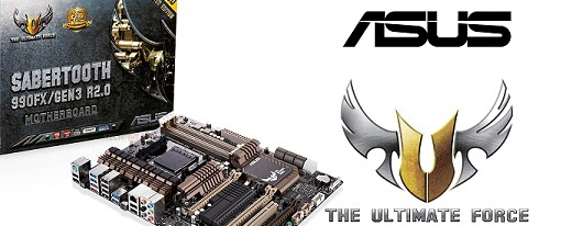 Asus anuncia oficialmente su tarjeta madre TUF Sabertooth 990FX/GEN3 R2.0
