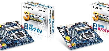 Gigabyte lanza dos tarjetas madres con factor de forma Thin Mini-ITX