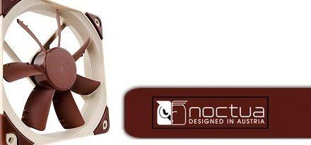 Noctua presenta sus nuevos ventiladores de la serie NF-S12A