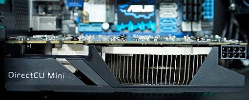 GeForce GTX 670 DirectCU Mini de Asus