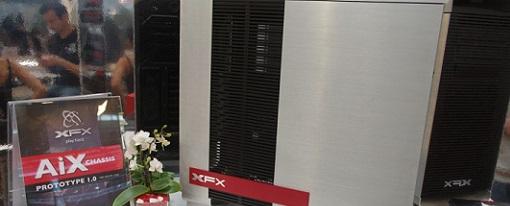 CeBIT 2013 – XFX revela su prototipo de case de aluminio