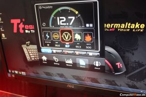 Interfaz de usuario de las fuentes de poder ToghPower Grand y XT Digital de Thermalt