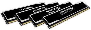 Memorias HyperX de Kingston - Black PCB