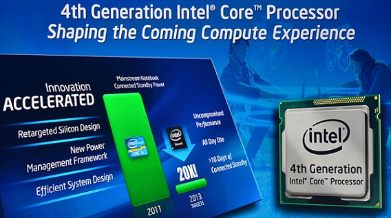 Procesadores Intel 4th Gen Haswell