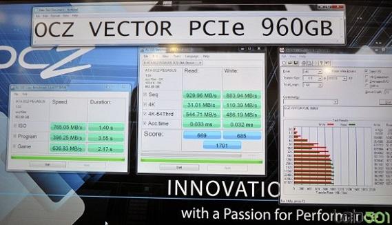 SSD Vector PCI-E 960 GB de OCZ