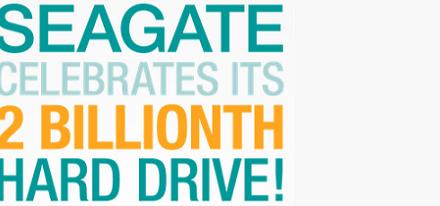 Seagate es el primer fabricante en enviar dos mil millones de unidades de disco duro