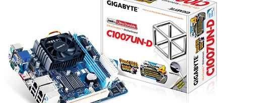 Gigabyte lanzó su tarjeta madre Mini-ITX C1007UN-D