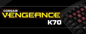Teclado Vengeance K70 de Corsair